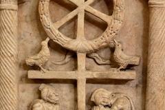 Croix chrétienne, anastasis (résurrection) - wikimedia commons (domaine public)