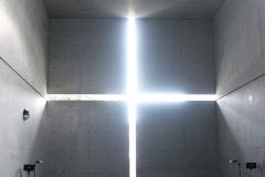 Tadao Ando, église de la lumière, Osaka (1988/1989)- wikimedia commons/Bujatt