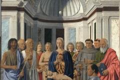 Pierro della Francesca, Breda Madonna, 1474 - wikimedia commons, domaine public
