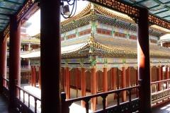 Intérieur du petit Potala de Chengde en Chine - SL