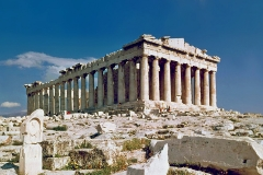 Le Parthénon en Grèce  - wikimedia commons/Steve Swayne
