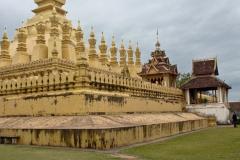 Temple de Ventiane, That Louang au Laos - SL