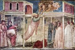 Giotto, ascension de Saint Jean, 1320 - wikimedia commons, domaine public.