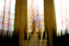 Vitraux sacrés, vibrations de la lumière, 2018 - SL