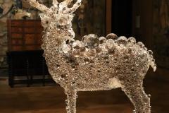 Kohei Nawa, cerf en pixel, musée de la chasse - SL 2018