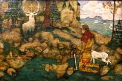 Vision de Saint Hubert, Egon Schiele, 1916 - SL 2018