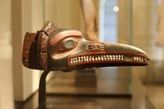 Masque tsimshian, 19ème siècle, Canada, Louvre - SL2109