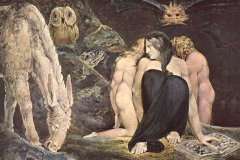 Hécate, William Blake, 1795 - wikimedia commons, domaine public