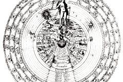 Robert Fludd, Utriusque Cosmi Historia -17ème siècle - wikimedia commons, domaine public