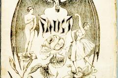 Faust, Goethe, couverture du livre, 1851 - wikimedia commons, domaine public
