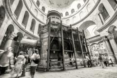 Eglise du Saint Sépulcre à Jérusalem, tombeau du Christ - wikimedia commons,  J lascar CC BY 2.0