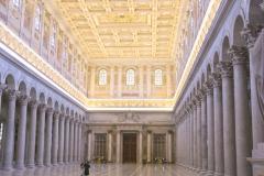 Basilique Saint Paul hors les Murs, Rome, 4ème siècle - wikimedia commons, Antoine Taveneaux CC BY-SA 3.0