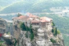 Monastère de Varlaam fait partie de ceux des Météores  en Grèce - wikimedia commons, Bernard Gagnon, CC BY-SA 4.0