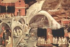 La vie des saints pères du désert,  Paolo Uccello, 1460 - wikimedia commons, domaine public