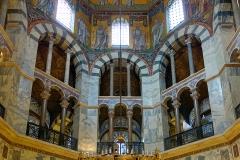Chapelle palatine, Aix la Chapelle, 8ème siècle - wikimedia commons, Velvet  CC BY-SA 3.0