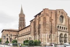 Basilique Saint-Sernin de Toulouse, 12ème siècle - wikimedia commons, Didier Descouens CC BY-SA 4.0