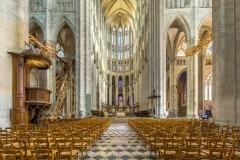 Cathédrale de Beauvais, nef, 13ème siècle- wikimedia commons, Diliff, CC BY-SA 3.0