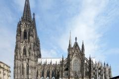 Cathédrale de Cologne, 19ème siècle - wikimedia commons, Velvet  CC BY-SA 4.0