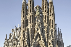 Sagrada familia, Gaudi, 19ème siècle - wikipedia commons CC BY-SA 3.0