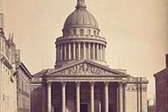 Le Panthéon, Paris, 18ème siècle, Gustave Le Gray - wikimedia commons, domaine public