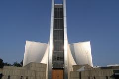 Cathédrale Sainte Marie de Tokyo, Kenzo Tange, 1964 - wikimedia commons, Morio, CC BY-SA 3.0
