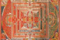 Manjuvajra mandala aux 43 divinités - wikimedia commons, CC BY-SA 2.0