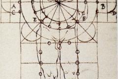 Plan de basilique chrétienne, Francesco Giorgio , 16ème siècle - domaine public