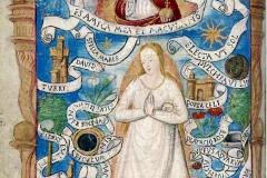 Livre d'Heures à l'usage de Rouen, Jacques le Lieur, 16ème siècle - wikimedia commons, domaine public