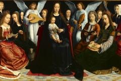 La Vierge entre les vierges, Gérard David, 1509 - wikimedia commons, domaine public