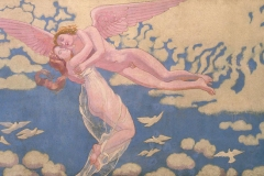 L'enlèvement de Psyché, Maurice Denis, 1909 - wikimedia commons, domaine public