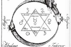 Sceau de Salomon - symbole du fixe et du volatile
