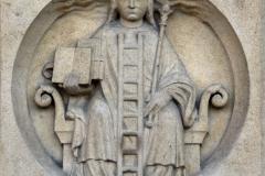 Notre Dame de Paris, médaillon portail, la sophia, 13ème siècle. SL