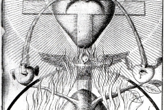 Jacob Boehme, couverture des testaments du Christ, 17ème siècle.