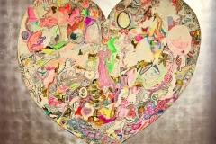 Nikki de Saint Phalle, my heart, 1965 - SL