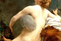 Le Corrège, Io et Jupiter, 16ème siècle - wikimedia commons