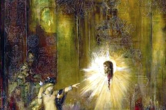 Gustave Moreau, l'apparition, 1876 - wikimédia commons, domaine public
