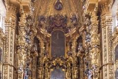 Cathédrale de Mexico, autel, 18ème siècle - wikimédia commons, domaine public