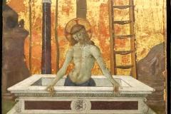 Le Pérugin, le Christ au tombeau, 16ème siècle, Musée du Louvre - SL