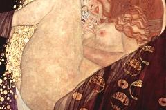 Danaé, Gustav Klimt, 1907 - wikimedia commons, domaine public