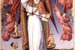 Le Jugement dernier, Rogier van der Weyden, Hospices de Beaune, v1450 - wikimedia commons, domaine public