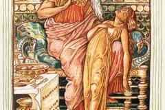 Le mythe de Midas, illustration de Walter Crane, 1893 - wikimédia commons, domaine public