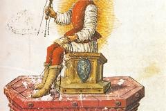 Sol, codex Urb. Lat., Bibliothèque Apostolique du Vatican, Nicola d'Antonio degli Agli, 1480 - domaine public