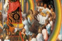 Retable des 2 St Jean, détail, Hans Memling, 15ème siècle - wikimedia commons, domaine public