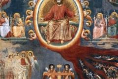 Le jugement dernier, détail, Giotto, 14ème siècle - wikimedia commons, domaine public