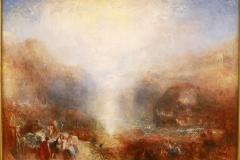 Mercury envoyé à admonester Aeneas, JM Turner, détail,1850 - SL2019