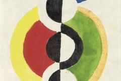 Rythme, Robert Delaunay, 1932 - wikimedia commons, domaine public