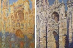 Cathédrale de Rouen, Claude Monet, 1892 & 1893 - wikimedia commons, domaine public