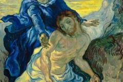 La Piéta, Van Gogh, 1889 - wikimedia commons, domaine public