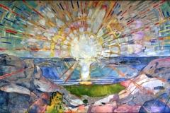 Le soleil, Edward Munch, 1911 - wikimedia commons, domaine public