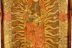 Vierge à l'enfant dans un rosaire, 15ème siècle - SL20219